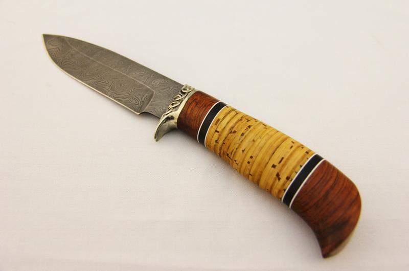 Охотничий нож МТ-27 Дамаск