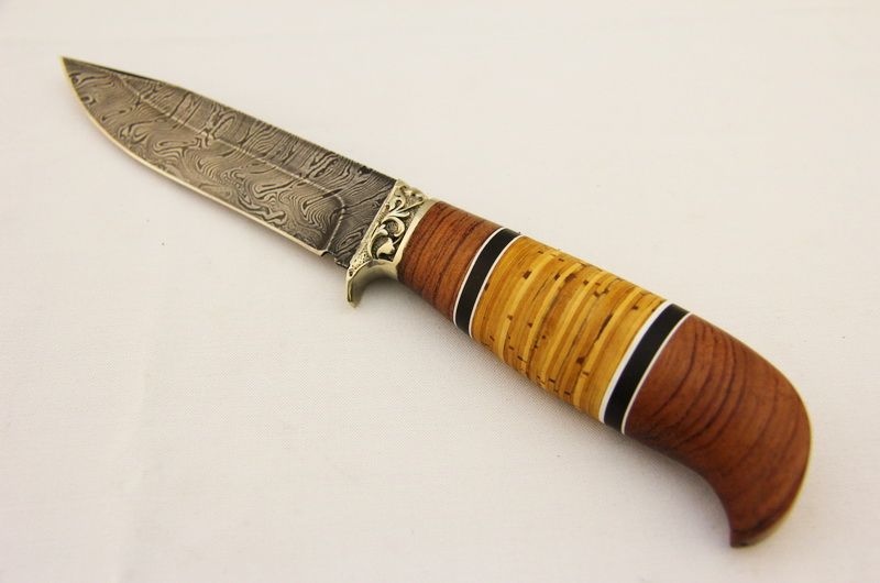 Охотничий нож МТ-13 Дамаск.