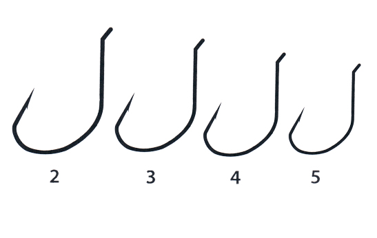 крючки рыболовные James's Hooks