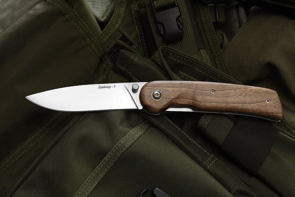 Складной нож Байкер-1 (орех)