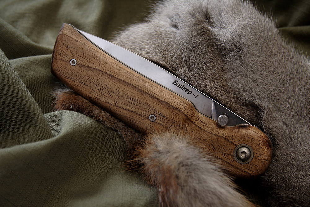 Складной нож Байкер-1 (орех) 3