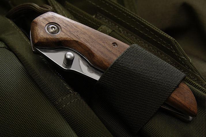 Складной нож Ирбис дер