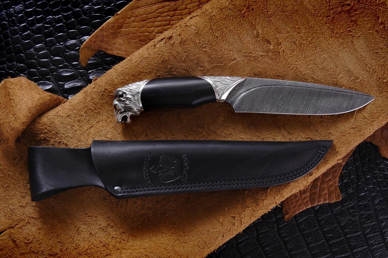 Нож эксклюзивный Лев
