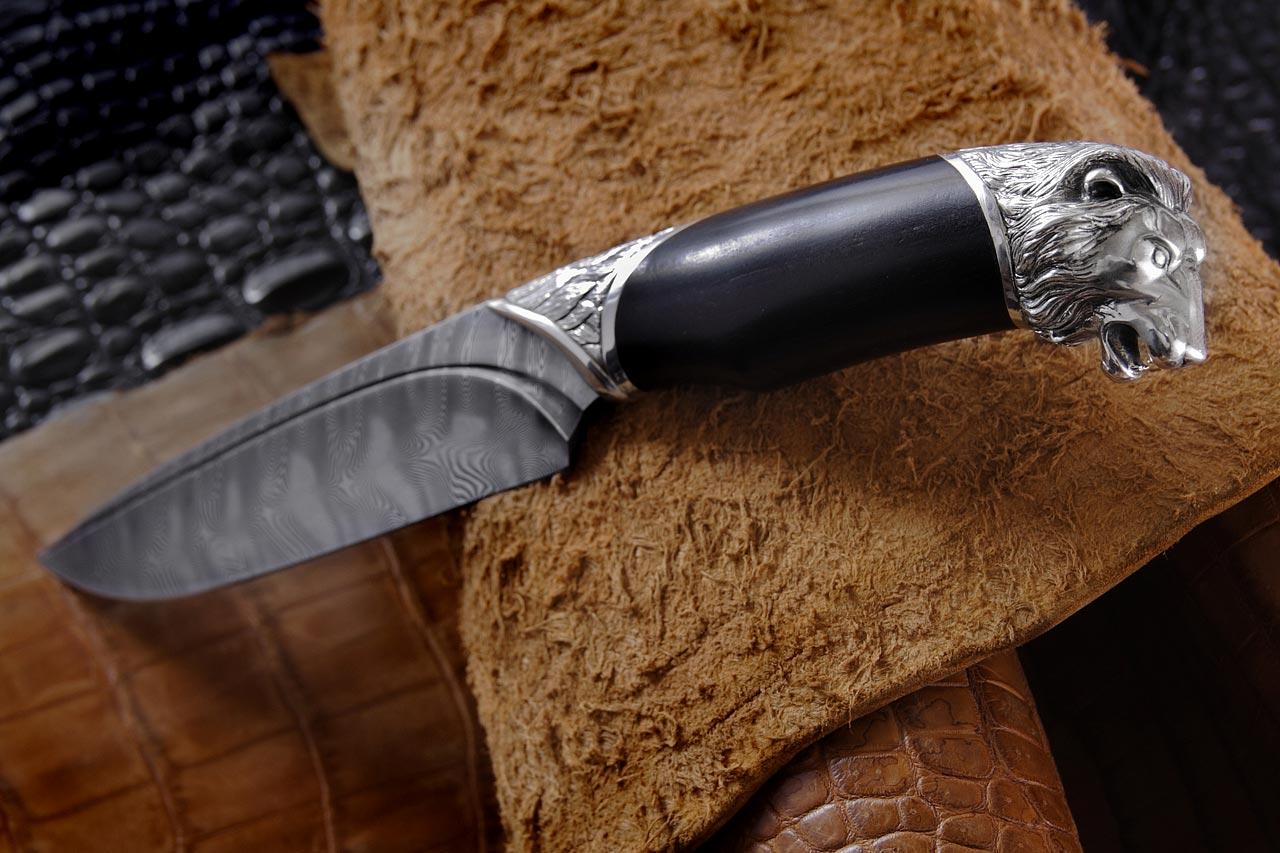 Нож эксклюзивный Лев 3