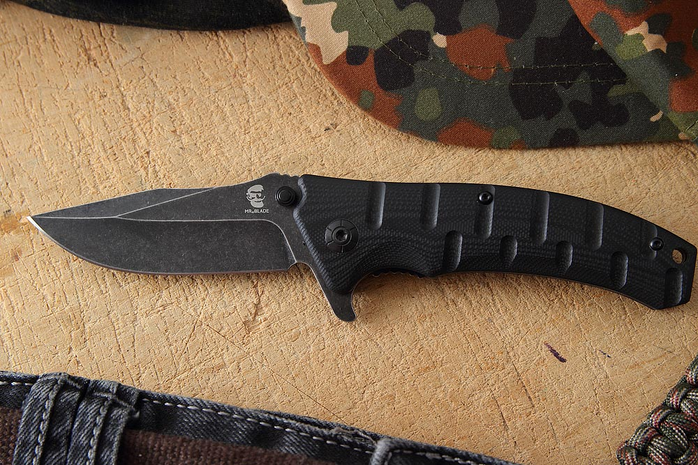 Складной нож Mr.Blade-ODRA BLACK S/W