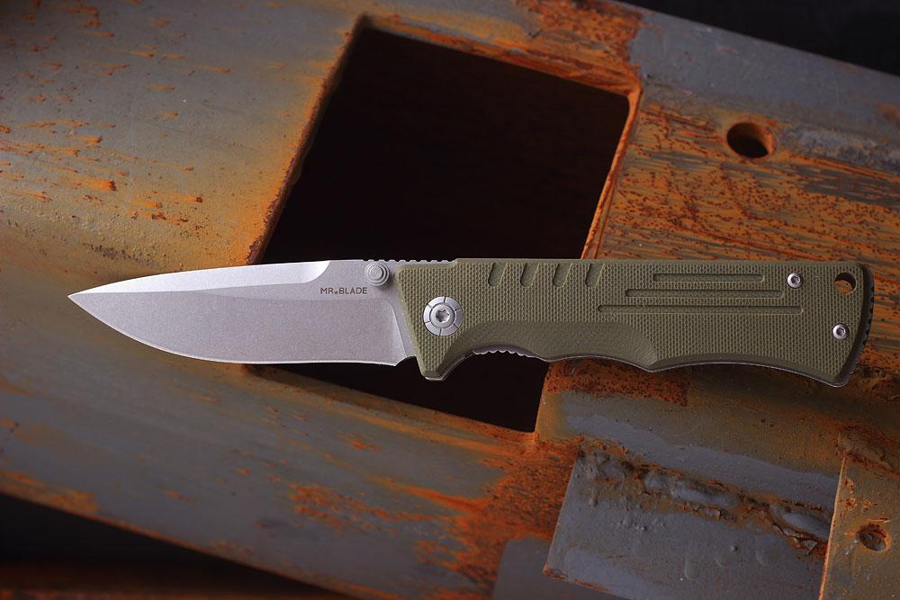 Складной нож Mr.Blade-SPLIT OLIVA