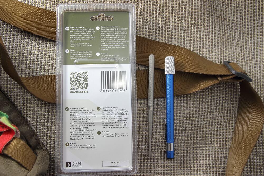 Карманная точилка,»ручка» TIP-01 2